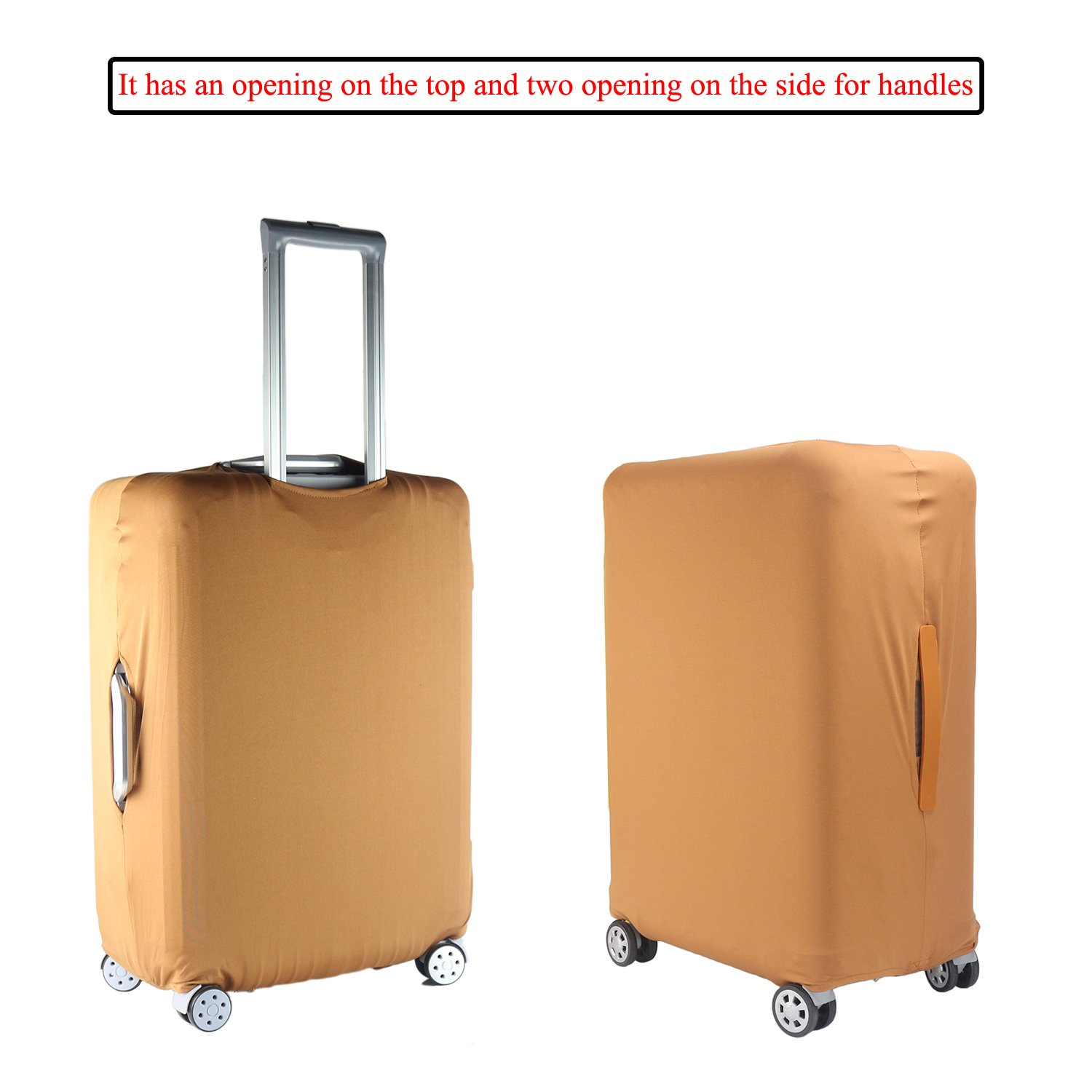 TOGEDI Luggage Cover Anti-Scratch Travel Luggage Protective Cover for18-30 Suitcase