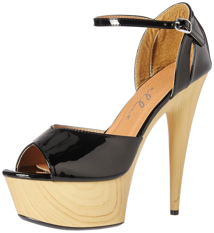 Ellie Shoes 8 Women's Women's 609-Billie Heeled Sandal, Black, B076J41W9Y 8 Medium US B076J41W9Y, フクシマシ:29025e5c --- sharoshka.org