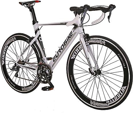 Eurobike - Marco de Aluminio para Bicicleta de Carretera (700 C ...