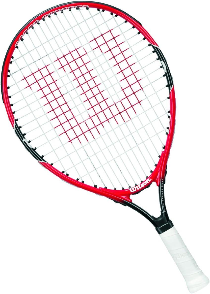 Wilson Raquette de Tennis Enfants, Jeu en Toutes Zones, Débutants, Roger Federer