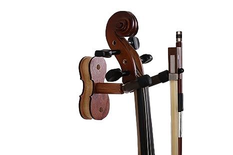 NIAFEYA - Soporte de pared para guitarra, violín, mandolina, ukelele,