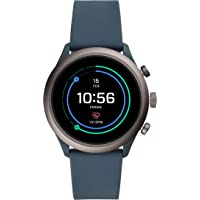Fossil Men's Digital Wrist Watch smart Display and Silicone Strap, FTW4021