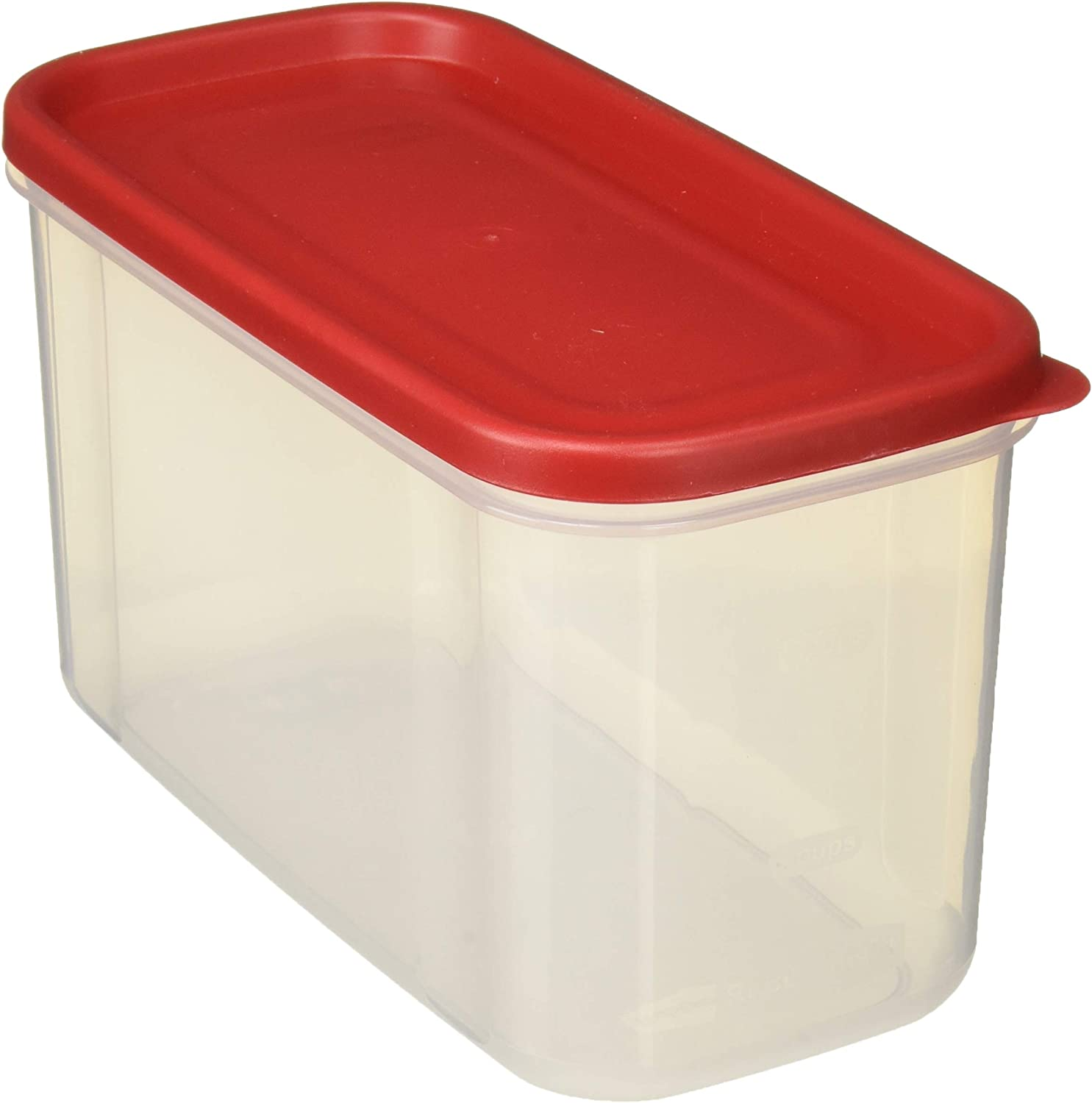 Rubbermaid 711717430423 10-Cup Dry Food Container (Set of 2), 1, Clear