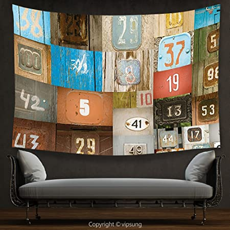 House Decor Tapestry Wanderlust Decor Rusty Metal Apartment Placards