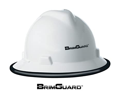 DripGuard ID Hard Hat Full Brim Protective Accessory Color Black
