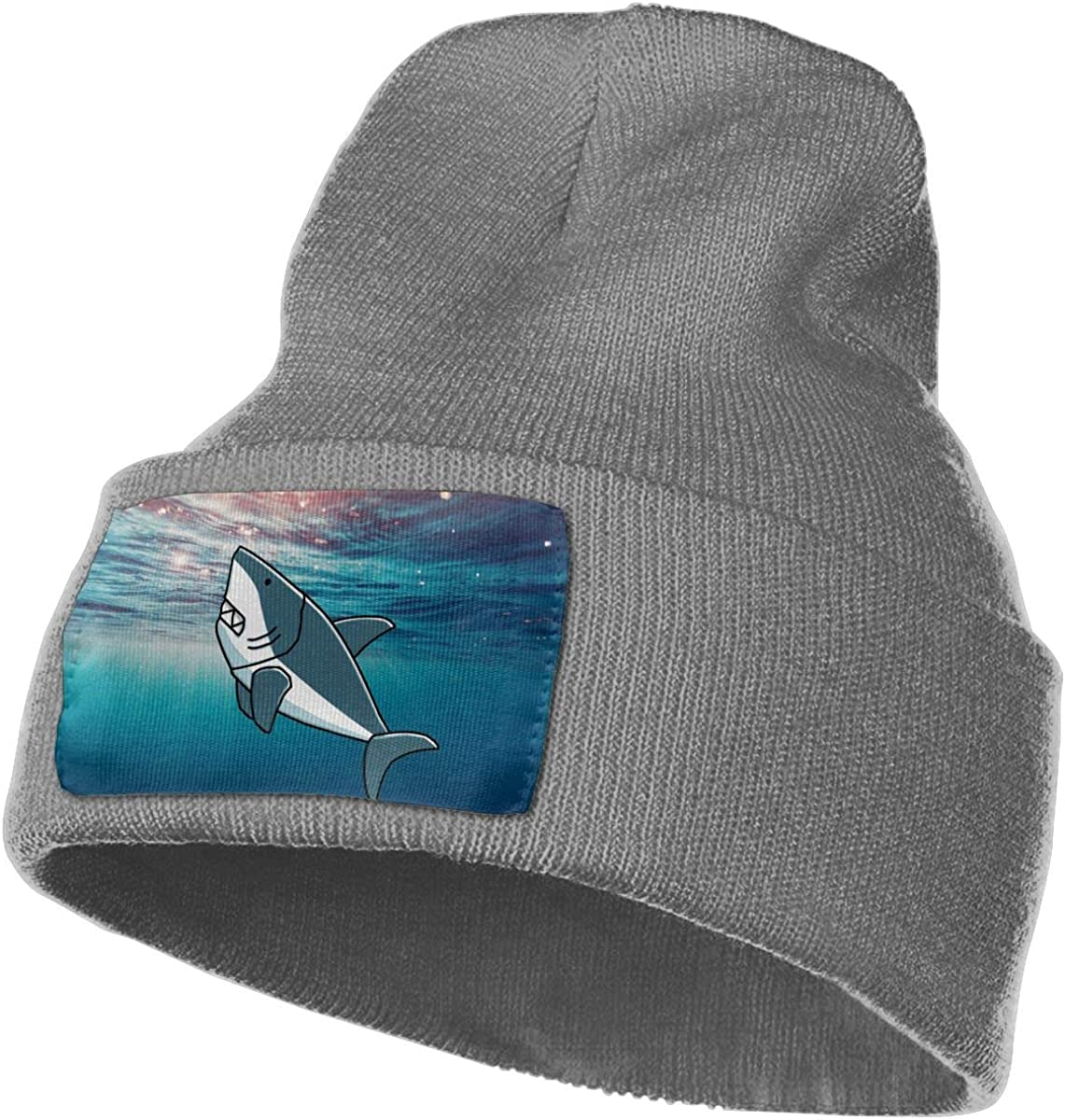 Free Kisses Shark Whale Cartoon Winter Beanie Hat Knit Hat Cap for for Men /& Women