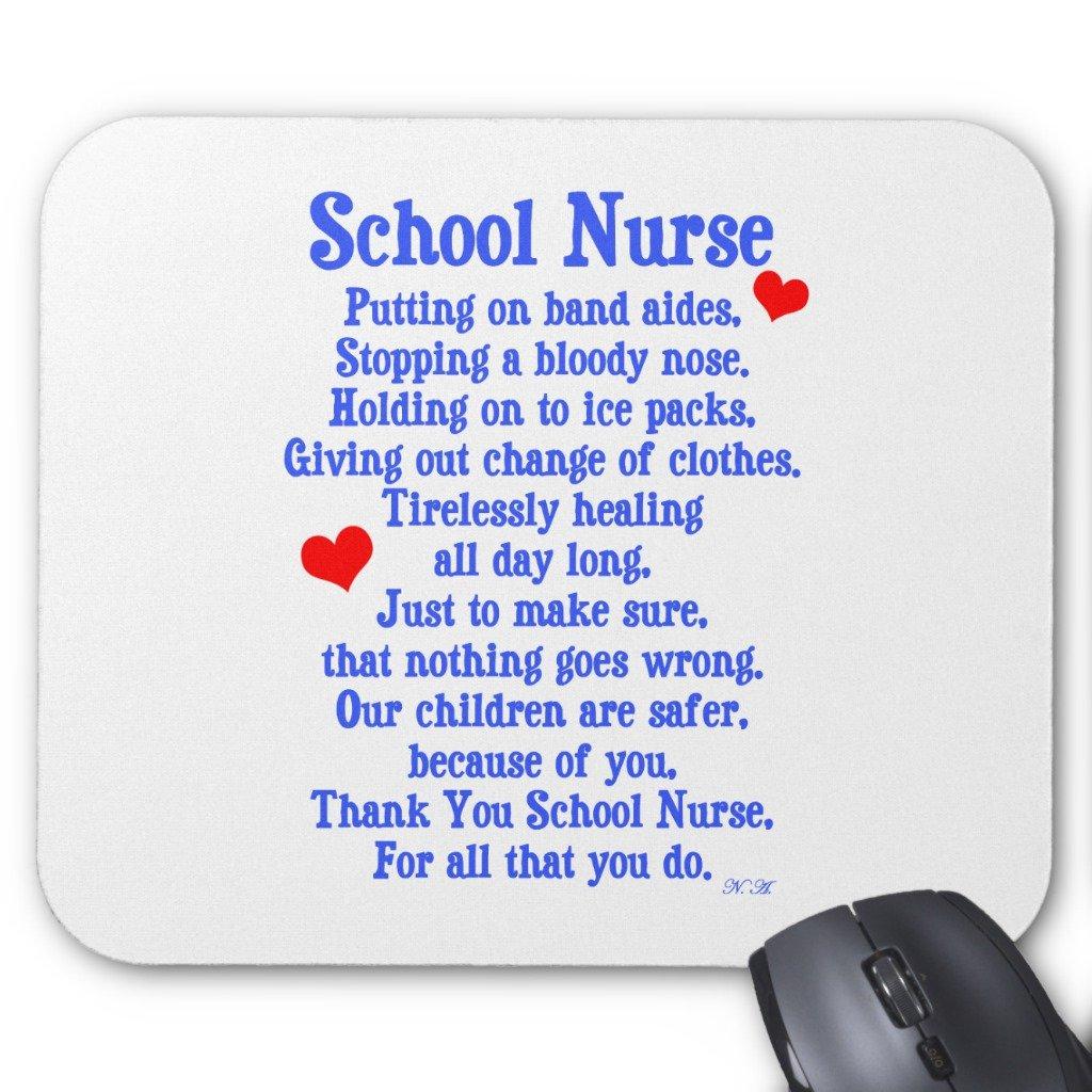 Zazzle School Nurse Mouse Pad
