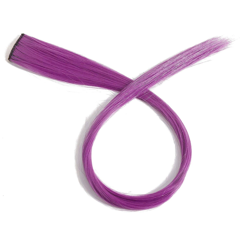 Beauty7 5pcs 20 inches Set 20 Colores Pelucas Lacio Trenzas Color Extensiones de Cabello Clip Sintético Hair Extensions Accesorios de Pelo DIY Decoración ...