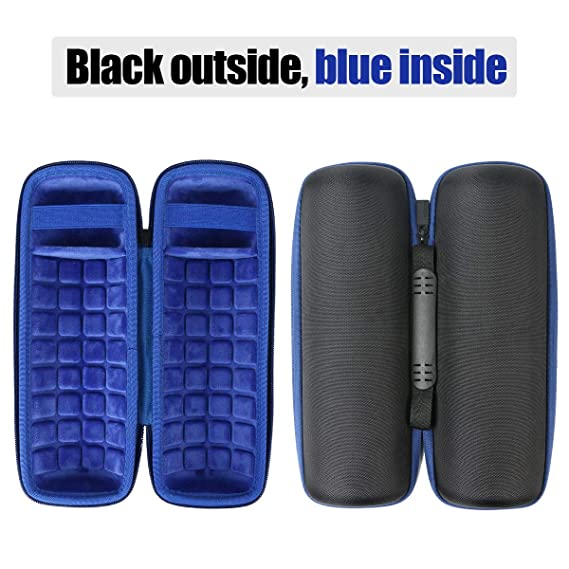 Altavoz inal/ámbrico port/átil co2CREA Duro Viajar Caso Cubrir para Sony SRS-XB22 Azul Speaker Case
