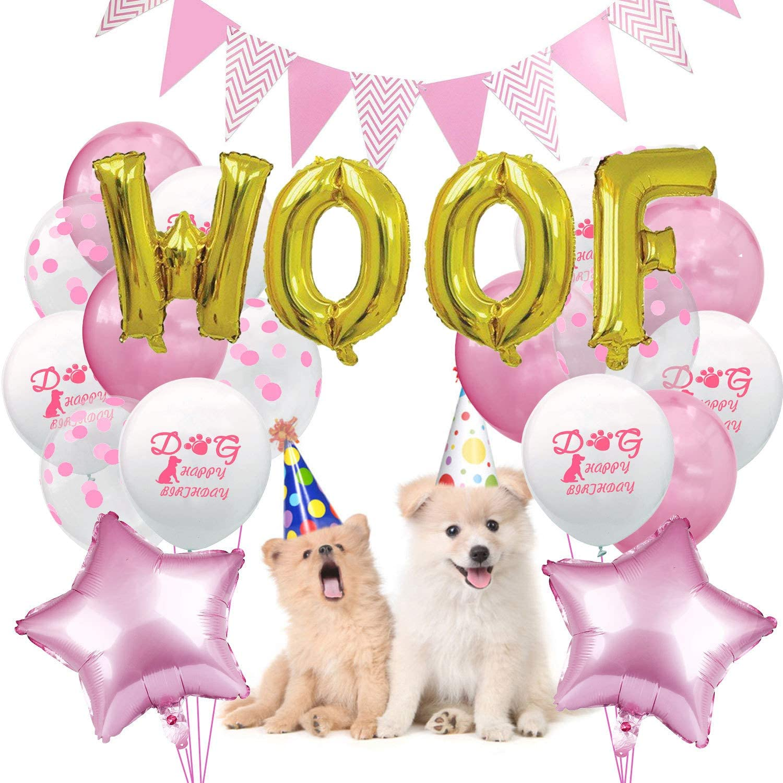 Decoraciones de cumpleaños para perros, sombrero de cumpleaños ...