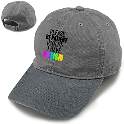 Please Be Patient with Me, I Have Autism Fashion Vintage Baseball Cap