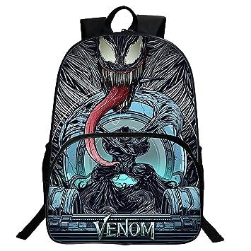 Mochila Para Niños Hombre Wei Venom Patrón Mochila Hero Avengers Mochila Ultraligera Mochila Para Niños: Amazon.es: Bricolaje y herramientas