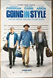 GOING IN STYLE MOVIE POSTER 2 Sided ORIGINAL 27x40 MICHAEL CAINE MORGAN FREEMAN