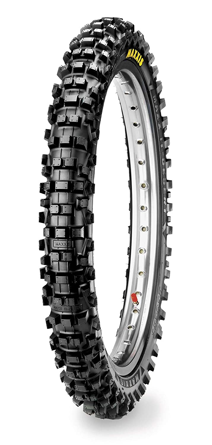Maxxis M7304D Maxxcross Desert IT Tire - Front - 80/100-21 , Position: Front, Tire Size: 80/100-21, Rim Size: 21, Load Rating: 51, Speed Rating: M, Tire Type: Offroad, Tire Application: Hard, Tire Construction: Bias TM88187100