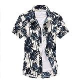 TEQIN Shirts,Men Fashion Casual Short Sleeve Quick Drying Beach T-Shirt