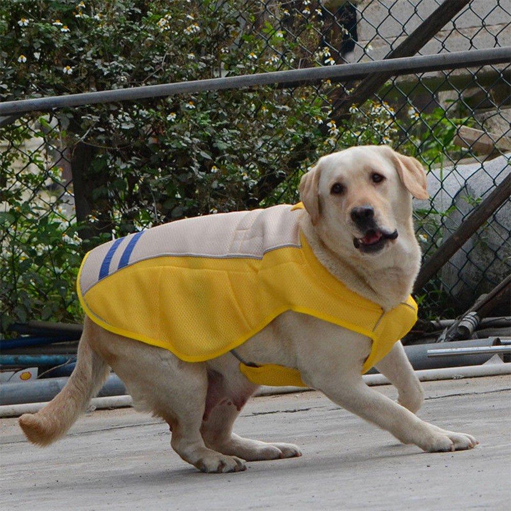 BEESCLOVER Summer Pet Dog Cooling Vest Outdoor Sunscreen Coat Prevent Sunstroke Pet Clothing
