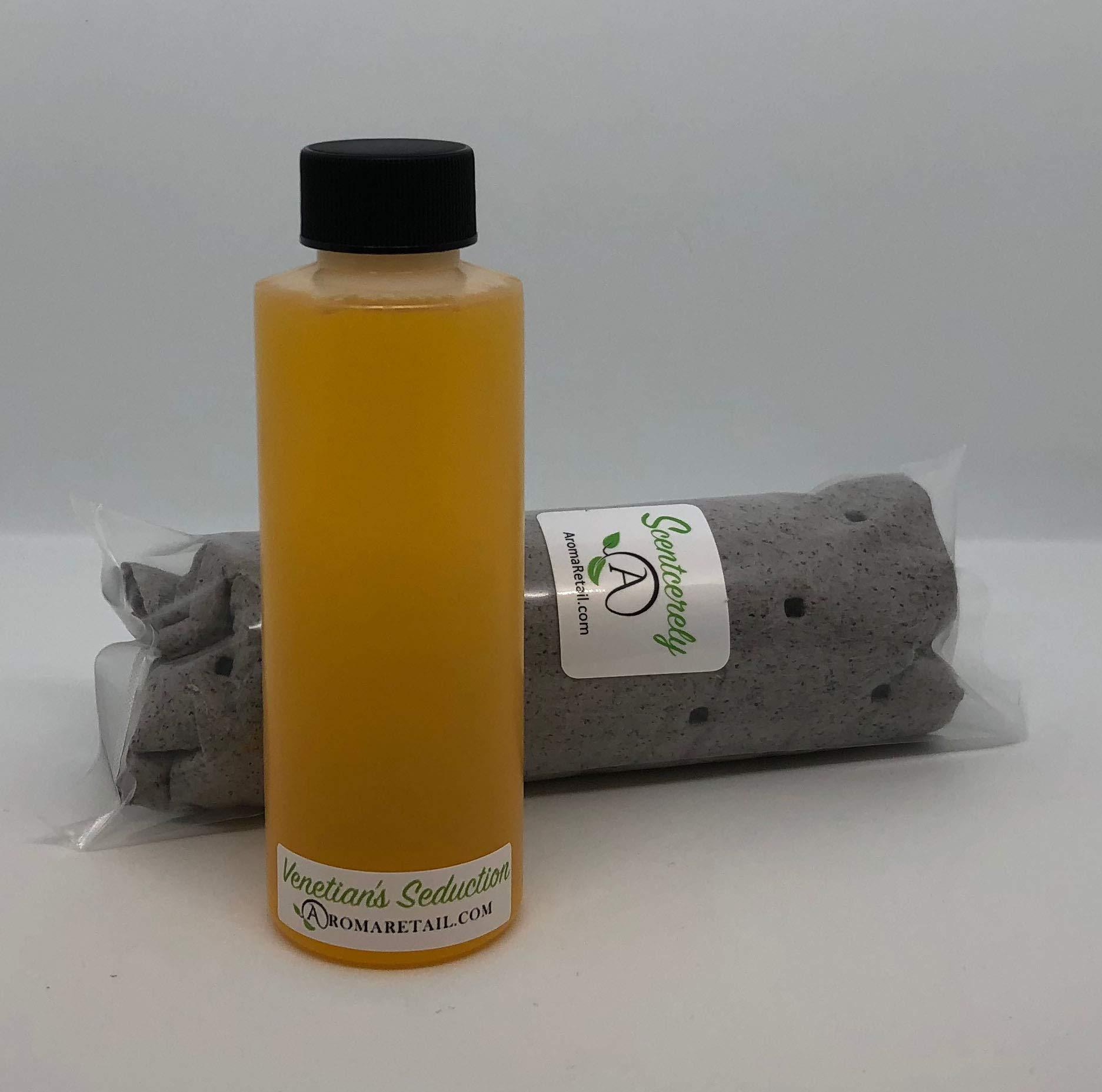 Aroma Retail 4 oz Fragrance Oil Refill - Seduction, Experienced at The Venetian Hotel Las Vegas Before 2015