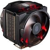 Cooler Master MasterAir Maker 8 Ventola per CPU '8 Heatpipes, 2x Silencio FP Ventola da 120mm PWM, LED Rossi' MAZ-T8PN-418PR-R1