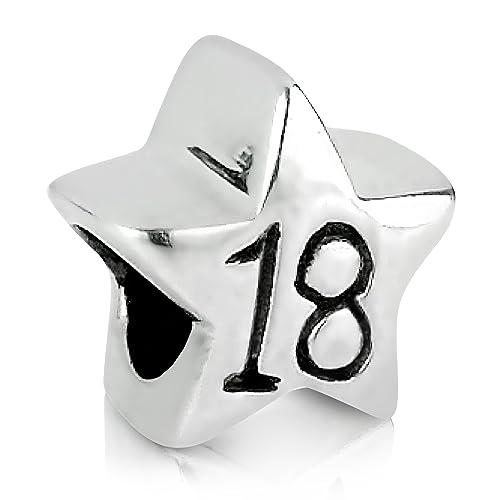 Cuenta en forma de estrella para cumpleaños 18 años para ...