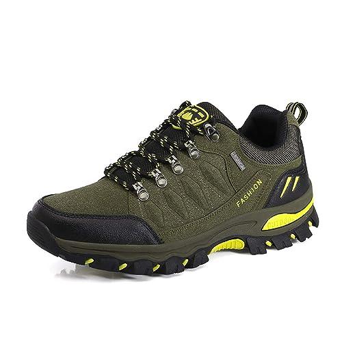 WOWEI Zapatos de Senderismo Al Aire Libre Ocio Deportes Escalada Trekking Sneakers Zapatos de Montaña para Mujer Hombre: Amazon.es: Zapatos y complementos