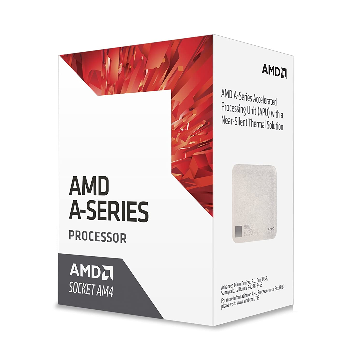 Amazon.com  AMD A8-9600 Bristol Ridge Quad-Core 3.1 GHz Socket AM4 65W  AD9600AGABBOX Desktop Processor Radeon R7  Computers   Accessories 631a3724b1a7
