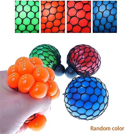 Honel - pelota de mano antiestrés de goma suave, juguete de mano ...