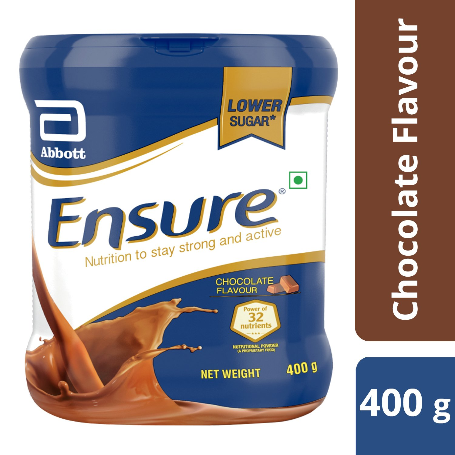 Ensure Complete, Balanced Nutrition Drink for Adults with Nutri – Strength Complex (Chocolate Flavour) – 400g product image