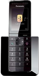 Panasonic KX-PRW110 - Teléfono Inalámbrico Digital Premium (LCD Color, Agenda de 300 números, Bloqueo de Llamadas, Modo Eco Plus, Modo No Molestar), Color Negro: BLOCK: Amazon.es: Electrónica
