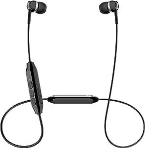 Sennheiser CX 150BT Bluetooth 5.0 Wireless Headphone - 10-Hour Battery Life, USB-C Fast Charging, Two Device Connectivity - Black (CX 150BT Black)