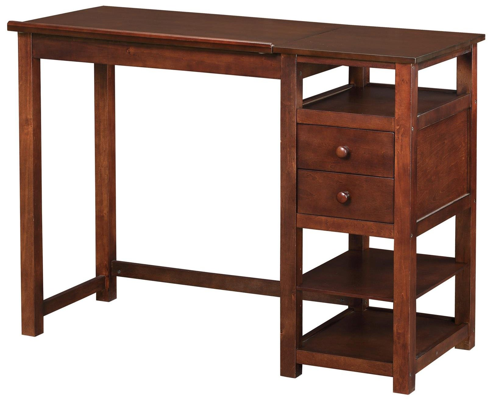 Dorel Living Drafting and Craft Counter Height Desk, Espresso by Dorel Living