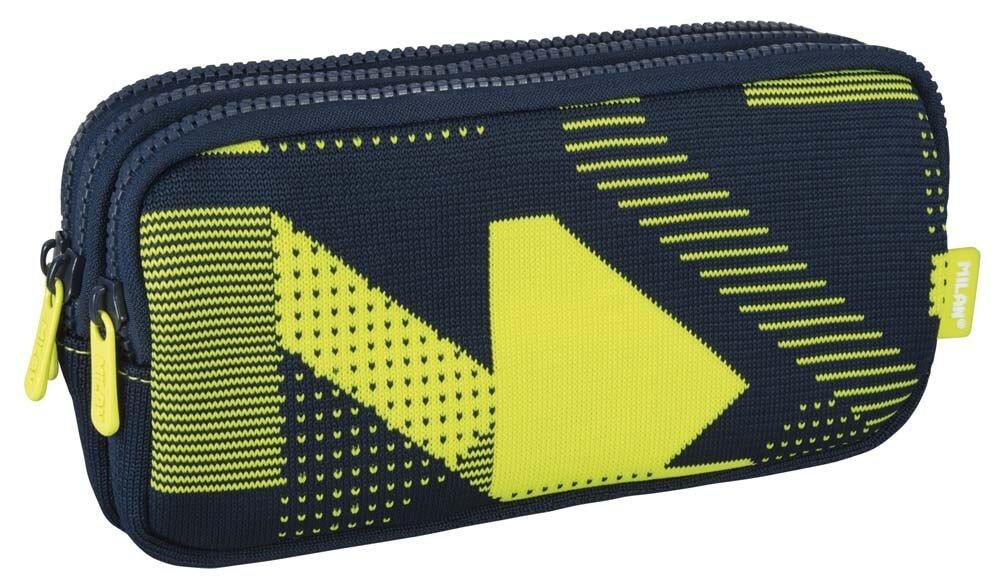 Milan - Portatodo 3 cremalleras knit amarillo - sinopsis y ...