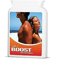 MyTan Boost Sun Tan Pills | Tanning Booster | 100 Capsules | All Natural Tanning...