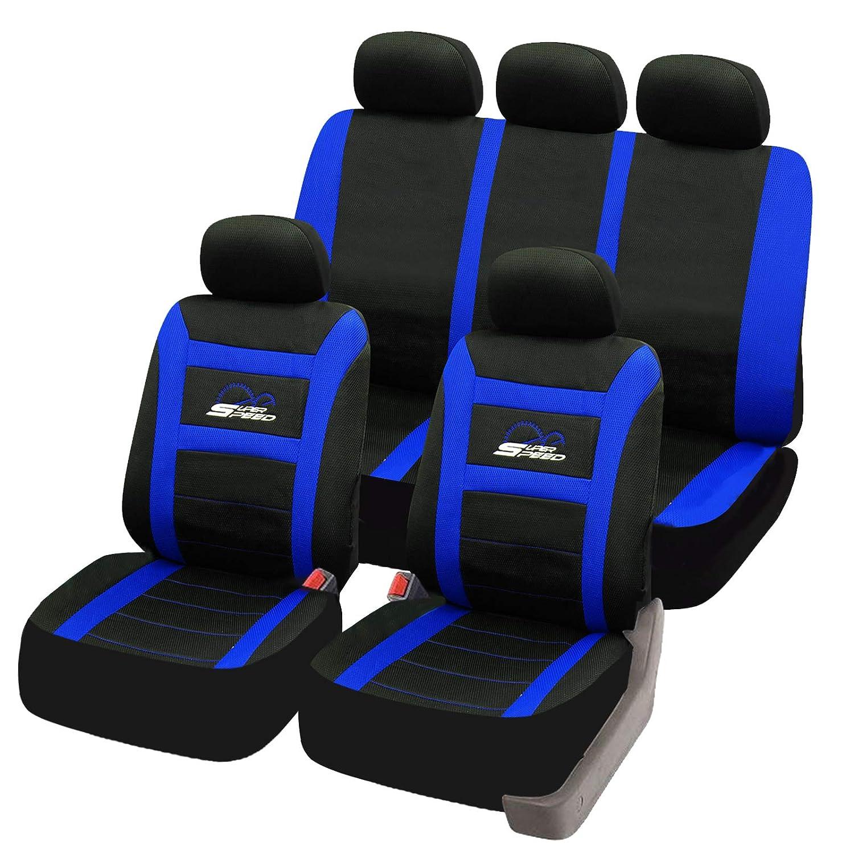 Sitzbezüge blau vorne KOS CITROEN BERLINGO