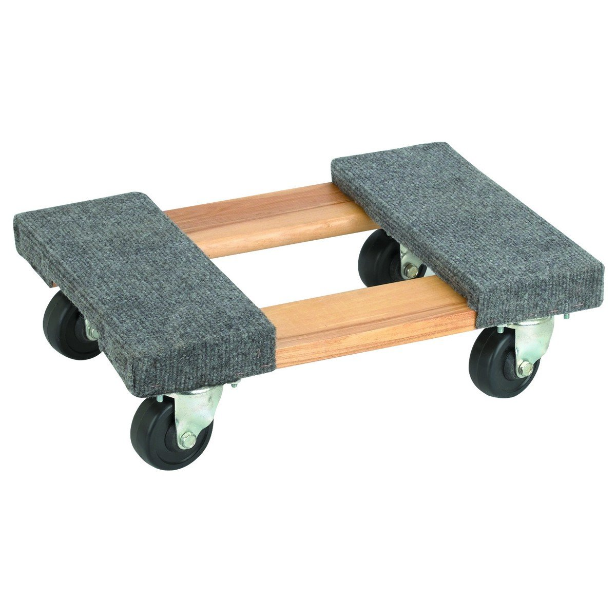 50-5401 TruePower 18'' X 12'' Mover's Dolly, 1000lbs Furniture Appliance, 4 x 3'' Rubber Swiveable Casters