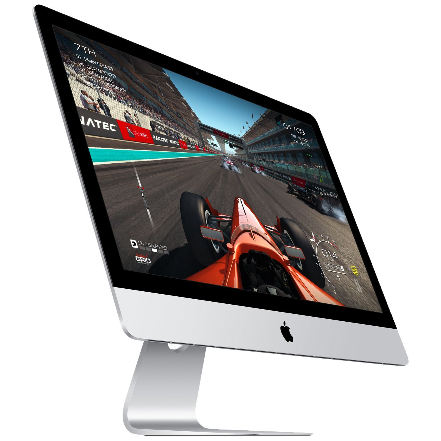 Apple iMac 27'' Desktop with Retina 5K Display (Mid 2017) - 4.2GHz Quad-Core Intel Core 7th-gen i7, 1TB SSD, 64GB 2400MHz DDR4 Memory, 8GB Radeon Pro 580 Graphics, macOS, Magic Keyboard - Spanish by Apple (Image #8)