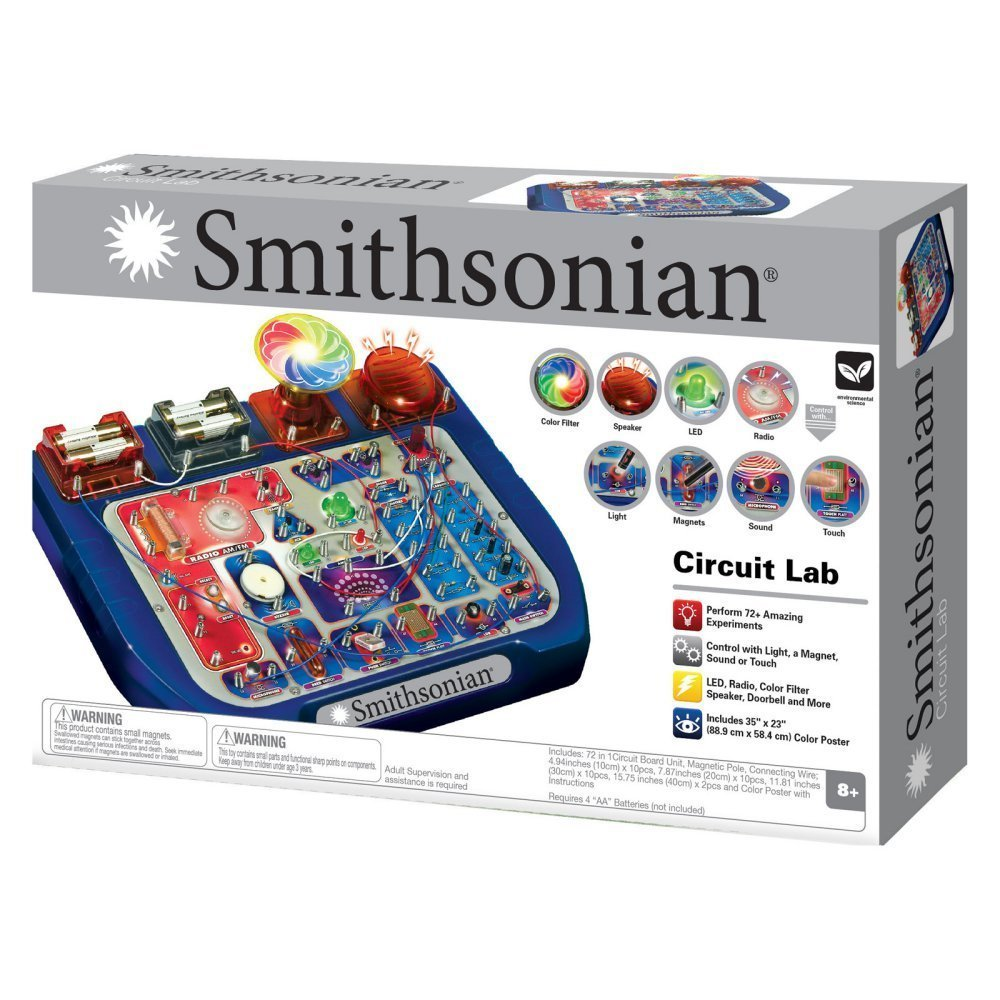 Smithsonian Circuit Lab 72 Toys Games Circuitlab Schematic N67t37