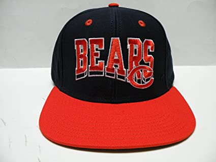 aea9458ff27cf Image Unavailable. Image not available for. Color  Authentic NFL Chicago  Bears Wave Team 2 Tone Retro Snapback Cap