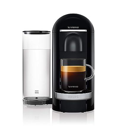 Krups Nespresso xn9008 vertuo Plus Cafetera de cápsulas, color negro: Amazon.es: Hogar