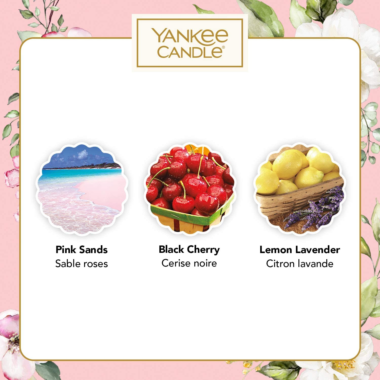 YANKEE CANDLE Collezione Garden Hideaway Set Regalo 3 Candele Votive Profumate