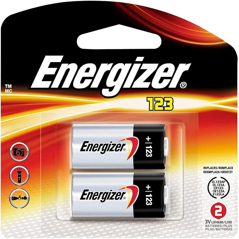 Energizer CR2450/1 Blister Pack of 2 Lithium 3/V Batteries/ Pack of 2