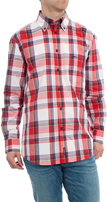 McGregor Camisa Disty Rojo M Rojo: Amazon.es: Ropa y accesorios