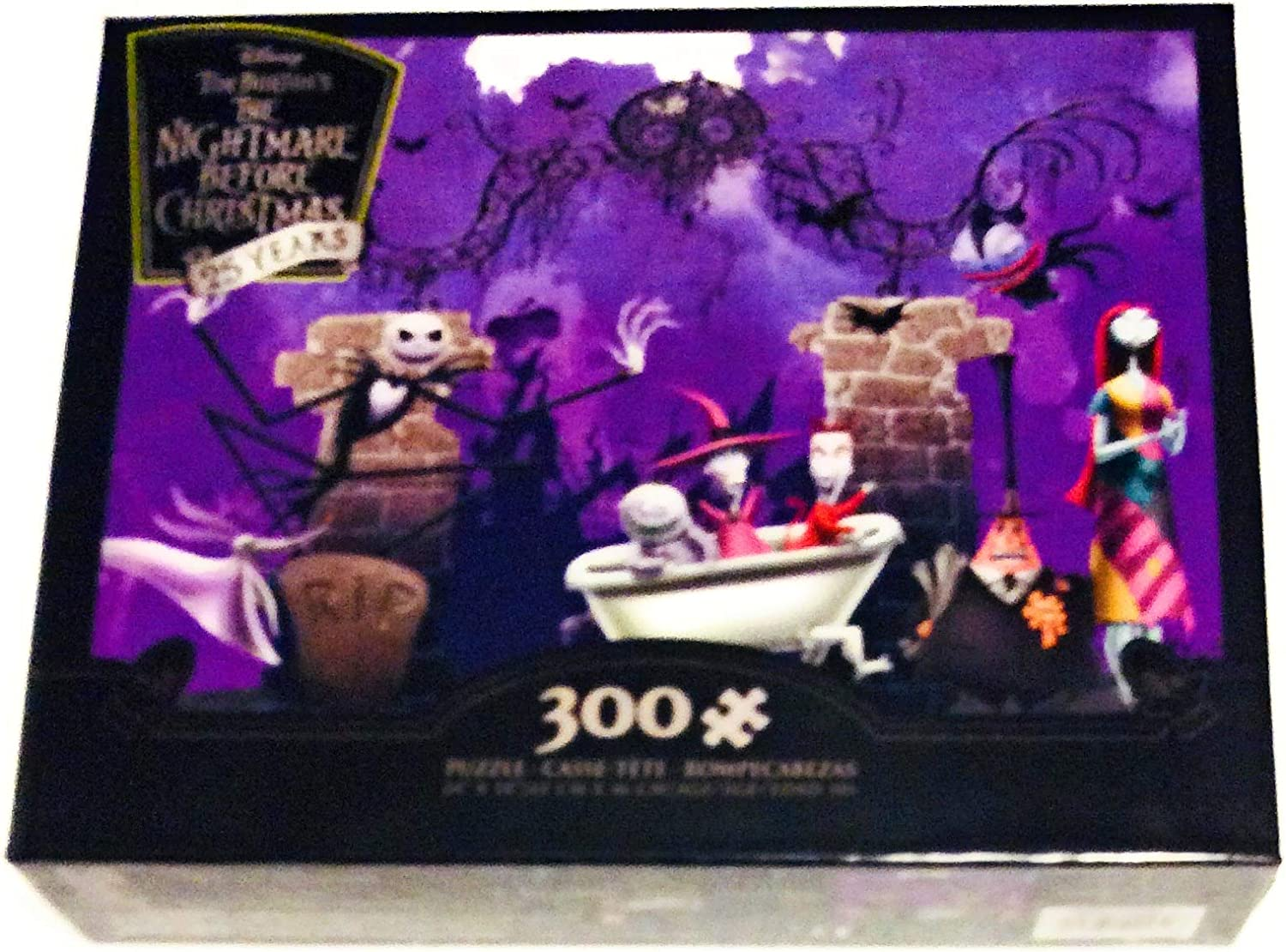 The Nightmare Before Christmas 25 Years 300-Piece Puzzle with Bonus Poster