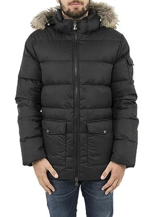 Pyrenex Doudounes hmi003p Authentic Jacket Mat Noir  Amazon.fr ... 55b71797a05