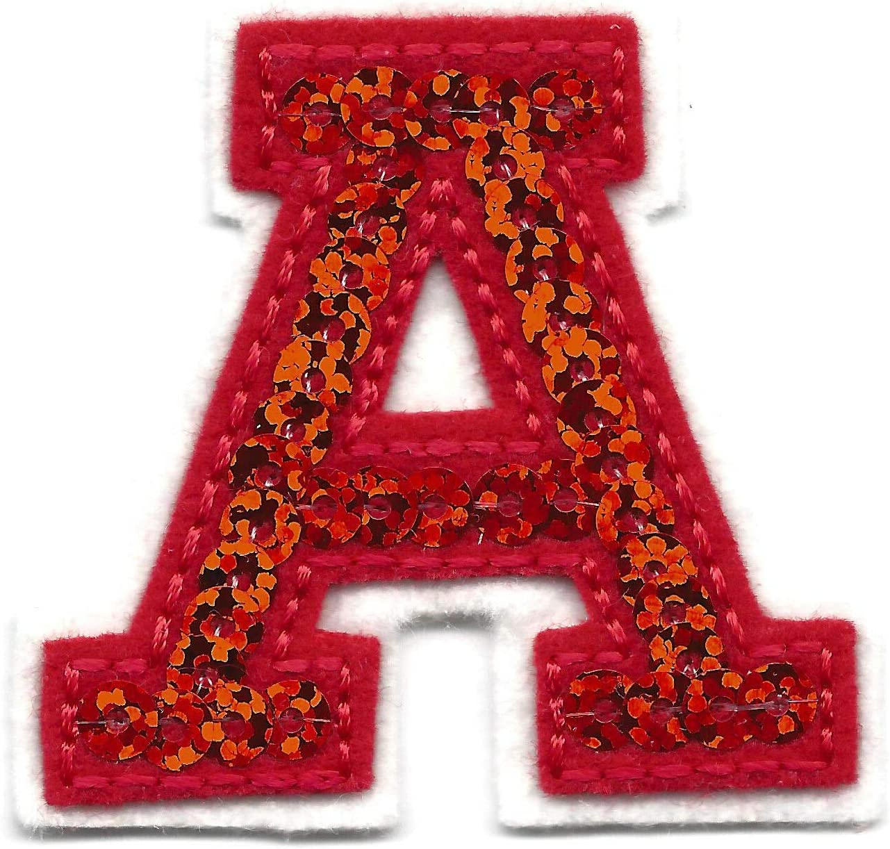 Iron-On Sequence Patch Letter