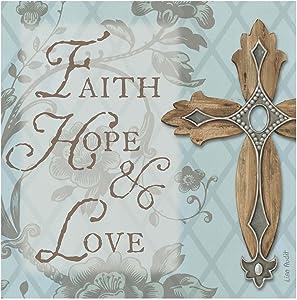 Thirstystone 4-Piece Faith, Hope, Love Cross Coaster Set