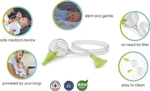 Nosiboo Eco Aspirador Nasal: Amazon.es: Bebé