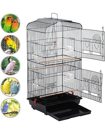 Bird Supplies Smart Bird Canaries Cage Finches Feeder Seats Plastic Swing Hook Bird Pet Pet Supplies
