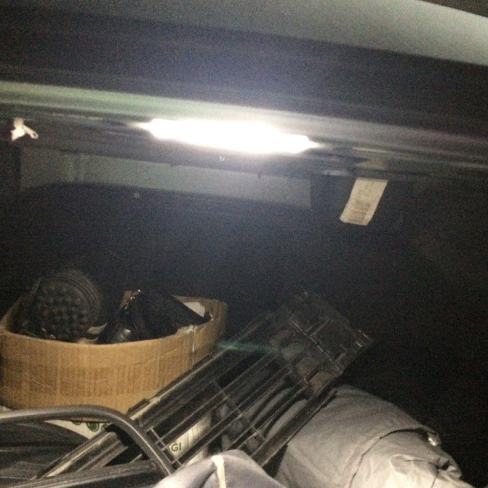 PolarLander 2Pcs 18SMD LED Luce Targa Luce Targa per V//W Transporter T4//Caravelle MK4//Multivan Passat B5 B6 Combi Eurova