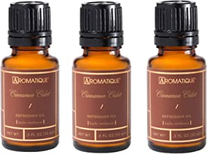 Package of 3 Aromatique 1/2 Ounce Refresher Oils - Cinnamon Cider