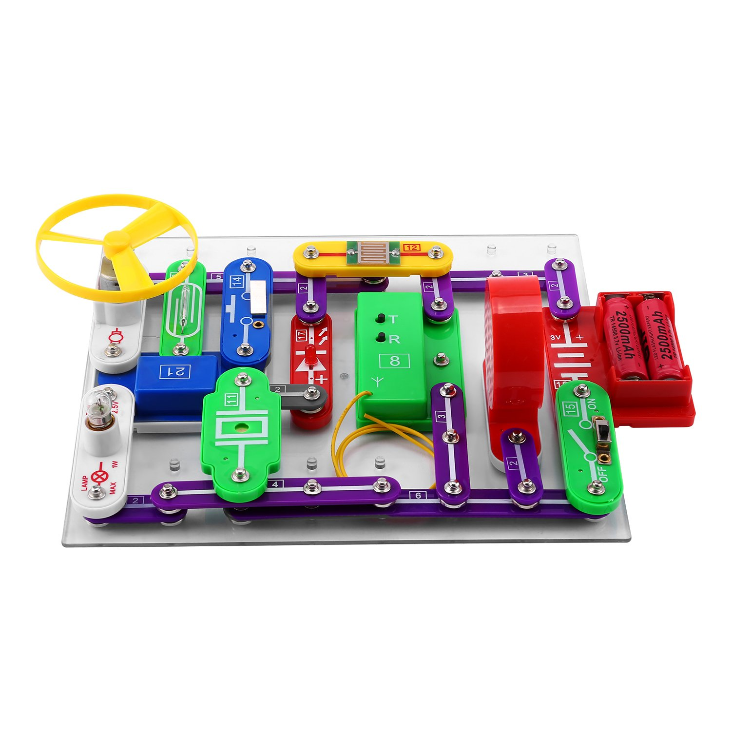 Electronics Block Kit For Children Discovery Smart Snap Circuits R Electronic And Educational Toys Games